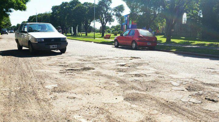 Proceso. Se trabajará sobre calles con pavimento flexible.