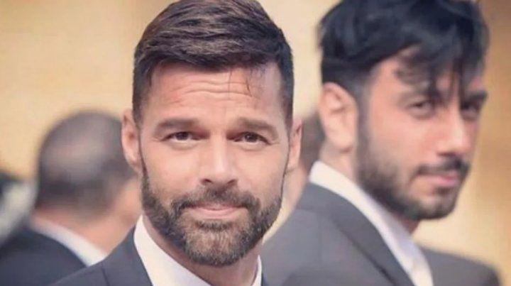 Los mensajes privados de Ricky Martin con un actor argentino