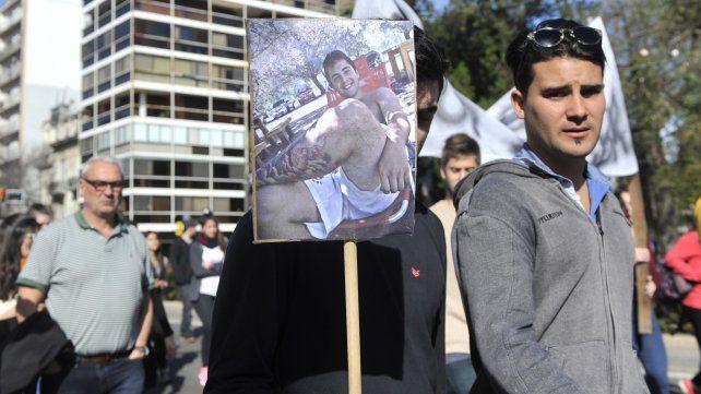 Una de las tantas marchas para pedir justicia por Fabricio Zulatto.