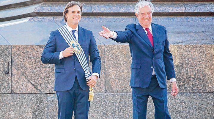 Lacalle Pou asumió en Uruguay y terminó con 15 años del Frente Amplio