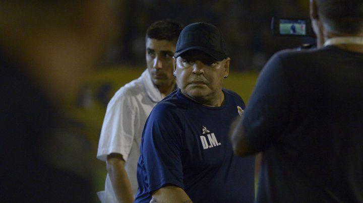 Maradona dijo que Dalma hace quilombo porque le gusta