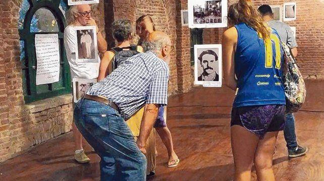 Un merecido homenaje. La muestra de fotos sobre los socios canallas desaparecidos se realizó en la sede fundacional.