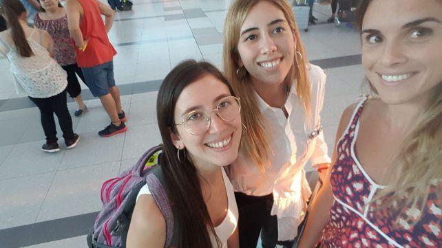 Tres rosarinas que están varadas en Países Bajos piden ayuda para volver