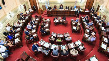 La Legislatura santafesinatambién se ve afectada por la pandemia.