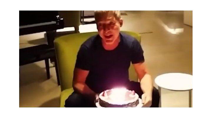Cómo fue el festejo de cumpleaños de Adrián Suar en total soledad