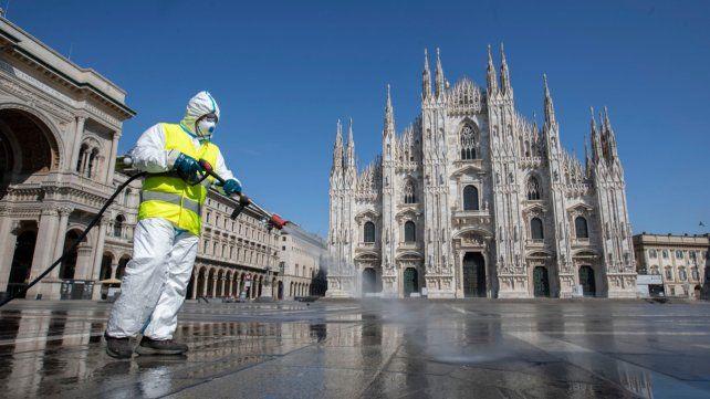 Los contagios de coronavirus en el trabajo preocupan en Italia.