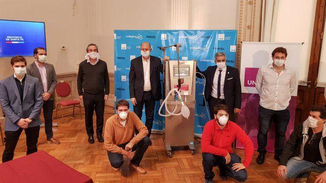 El primer prototipo de un ventilador para asistir a pacientes con coronavirus es rosarino