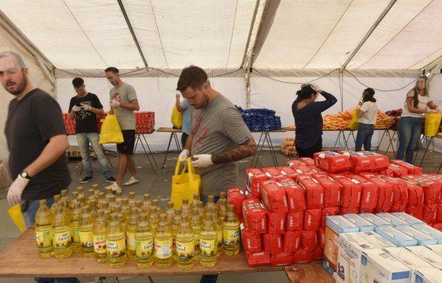 La Intendencia confirmó que entregó junto al Banco de Alimentos Rosario 75 mil kilogramos de alimentos en un mes.