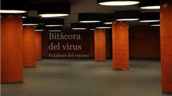 La bitacora es un cuaderno de ruta, este habla y muesta imágenes de la pandemia en tiempo real.