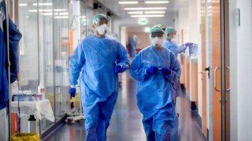 Hasta el momento se encuentran internadas 662 personas en terapia intensiva.