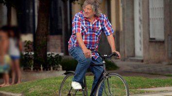 La bici del Trinche, motivo de la foto y de la agonía