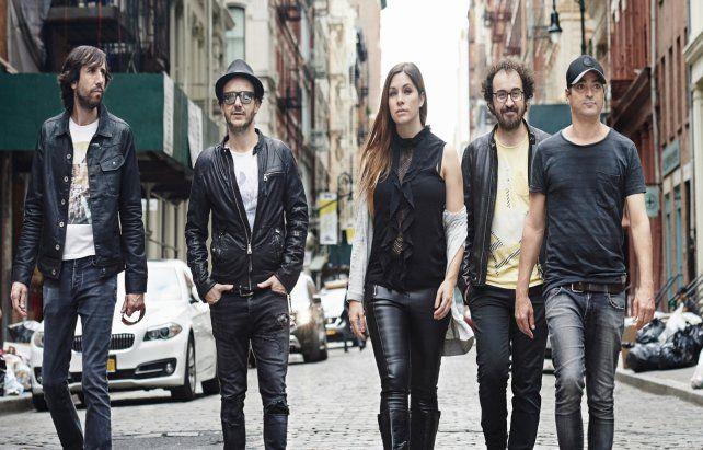 En marcha. El grupo liderado por Leire Martínez siguió con las giras a pesar de no grabar desde hace cuatro años.