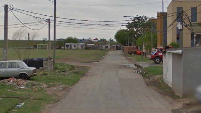 La cuadra donde detuvieron al vendedor de droga.