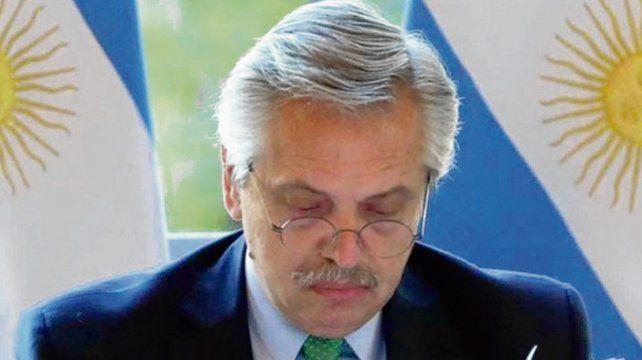 Fernández. El mandatario impulsó una batería de iniciativas económicas.
