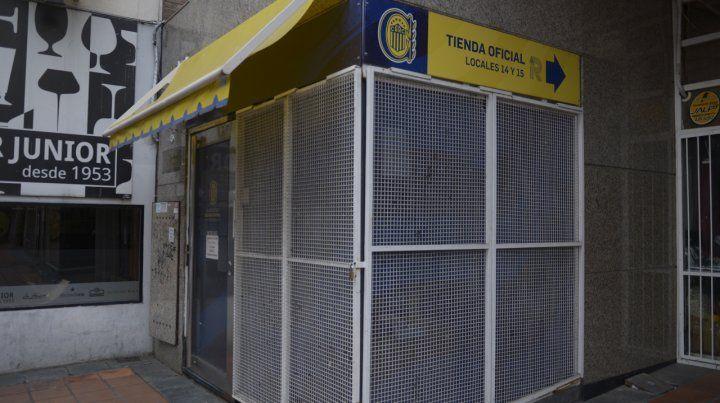 La sede social canalla de calle Mitre. La oposición de Central pidió informes.