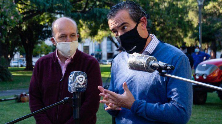 El intendente de Rosario hizo otro llamamiento a la responsabilidad ciudadana.