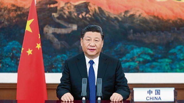 Ala defensiva. El presidente chino habló por videoconferencia a la OMS.