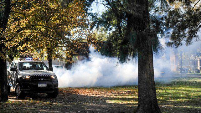 El municipio continúa con las tareas de fumigación por el dengue