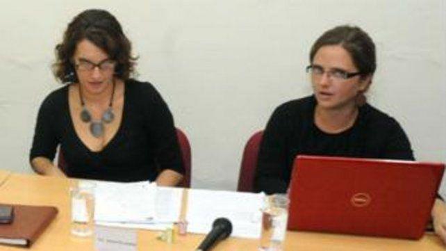 Gabriela Durruty y Jesica Pelegrini