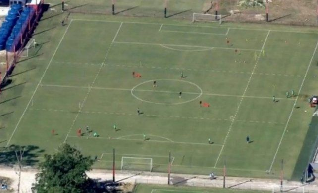 Flamengo entrenó sin permiso en plena cuarentena