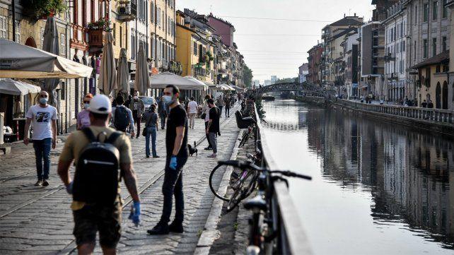 Más de 43.000 italianos se contagiaron de coronavirus en el trabajo