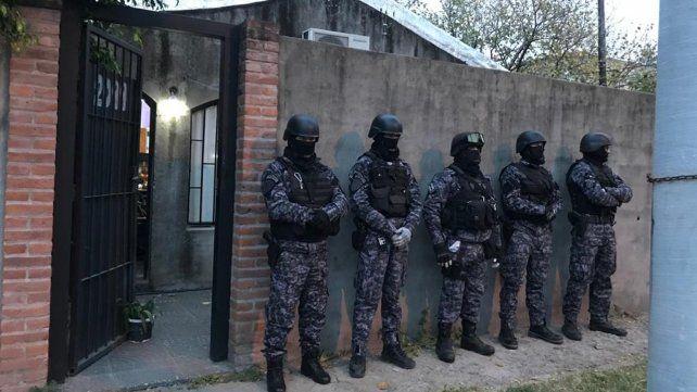 Los allanamientosdejaron un saldo de seis armas de fuego secuestradas