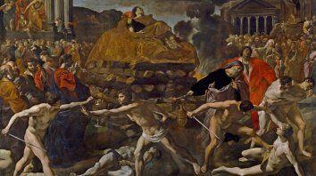 """""""Exequias de un emperador romano"""" (1636), de Giovanni Di Stefano Lanfranco (1582-1647). Museo el Prado"""