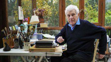 El gran narrador y ensayista británico John Berger.