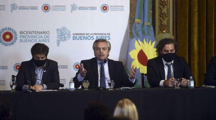 El presidente Fernández aseguró que el desafío no es mano dura o mano blanda