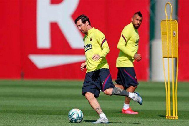 Lionel Messi lamentó que no se desarrolle la la Copa América.