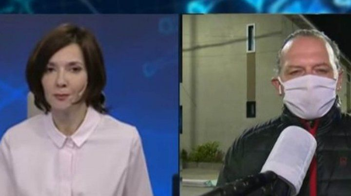 Berni cruzó a la periodista Cristina Pérez y se generó otro escándalo