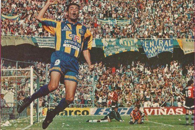 Goleador. El Polillita Da Silva marcó goles importantes en Central