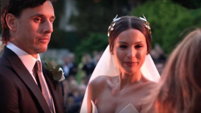 Pampita compartió el video inédito de su boda con Roberto García Moritán