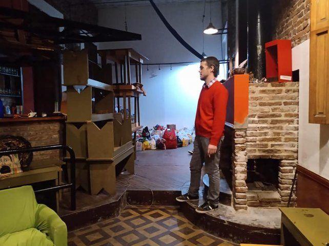 El centro cultural de calle Pasco sufrió un robo de mercadería que era para los comedores comunitarios.