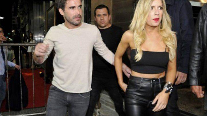 Laurita Fernández y Nicolás Cabré en los tiempos en que la pareja marchaba sobre rieles.