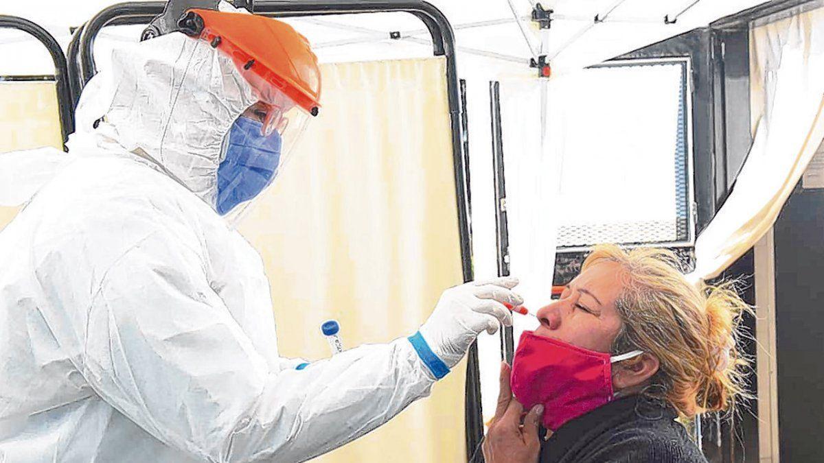 testeos coronavirus hisopado