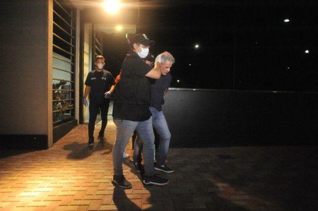 El empresario gastronómico fue detenido por primera vez el 26 de marzo pasado.
