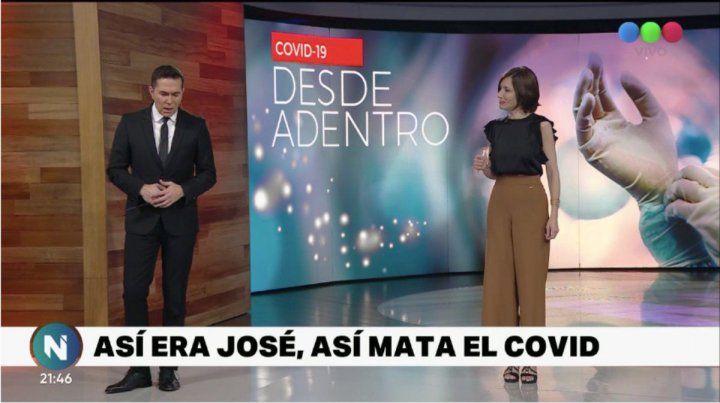 Cristina Pérez se quebró al ver un paciente de coronavirus que luego falleció