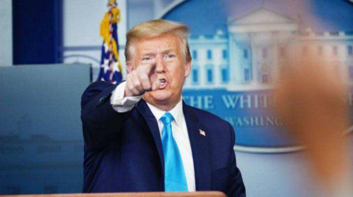 Trump anunció que Estados Unidos romperá relaciones con la OMS