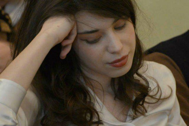 La escritora italiana María Borio