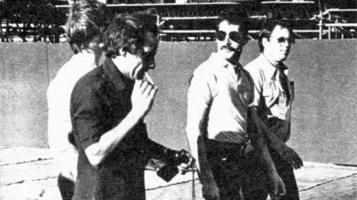 Freddie Mercury recorrió las instalaciones del estadio de Central antes del show.