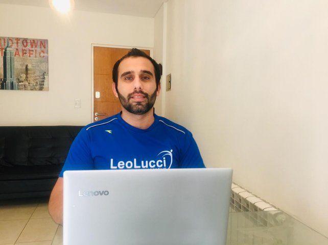 Leo Lucci, organizador de la prueba.