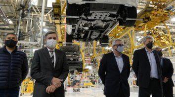 General Pacheco. La planta de VW reabrió bajo estrictas medidas de control sanitario.