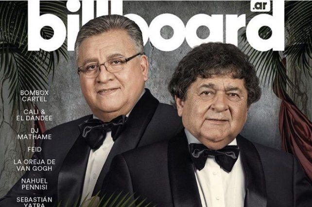 Los Palmeras llegaron a la tapa de la revista Billboard