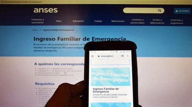 Anses anunció que pagará el IFE a partir del lunes 8 de junio