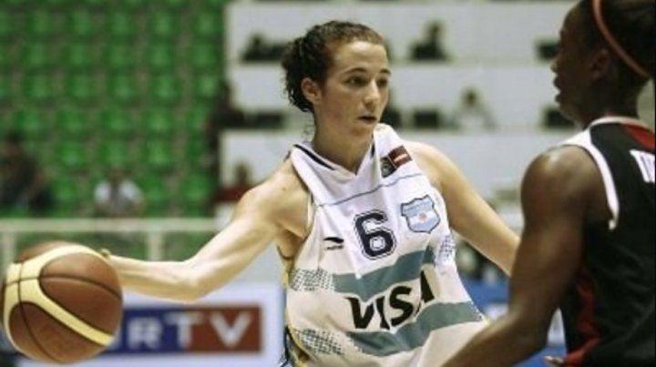 Paula jugó en Las Gigantes hasta 2015.