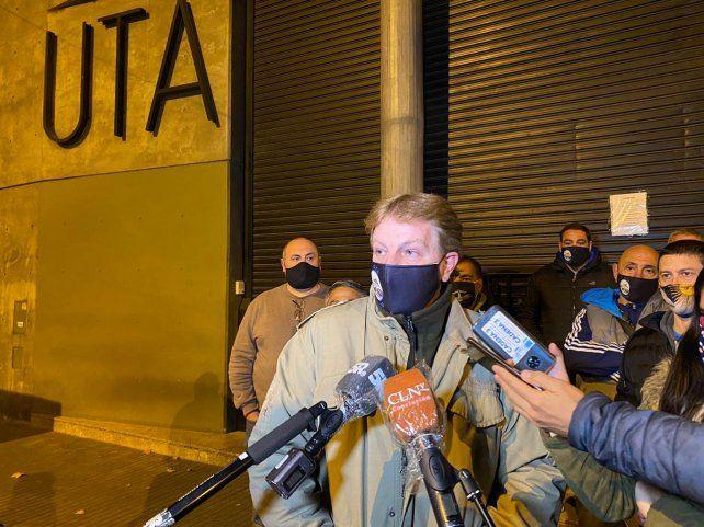 Copello confirmó el levantamiento del paro en Rosario y la región.
