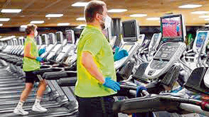 San Juan. Los gimnasios abrirán de 7 a 20 y los usuarios podrán estar una hora. Habrá intervalos para limpiar.
