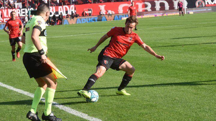 Jerónimo Cacciabue jugó 35 partidos en Newells y anotó dos goles.