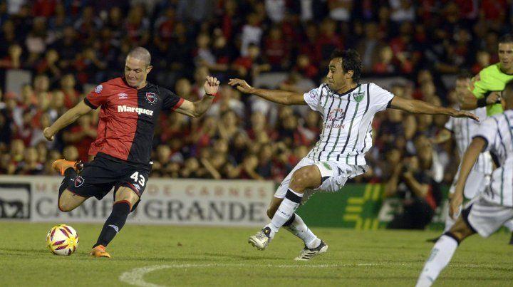 Aníbal Moreno jugó 16 partidos en Newells y anotó un gol.